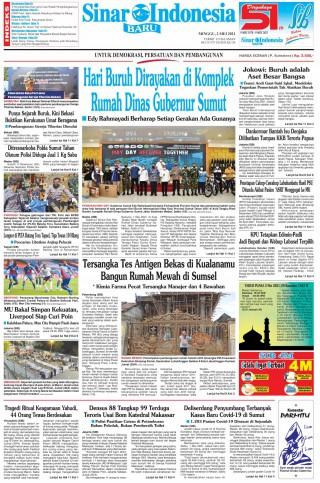 Hari Buruh Dirayakan di Komplek Rumah Dinas Gubernur Sumut