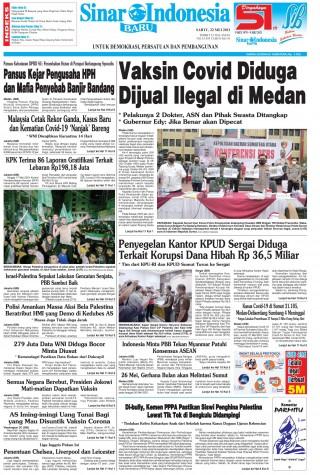 Vaksin Covid Diduga Dijual Ilegal di Medan