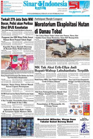 Moratorium Eksploitasi Hutan di Danau Toba!