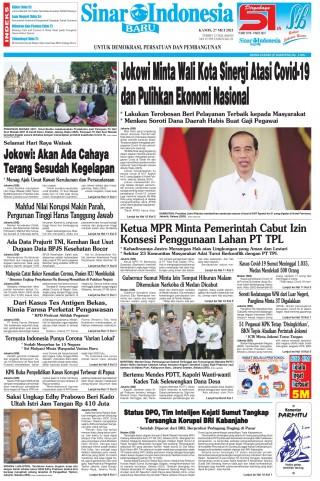 Jokowi Minta Wali Kota Sinergi Atasi Covid-19 dan Pulihkan Ekonomi Nasional