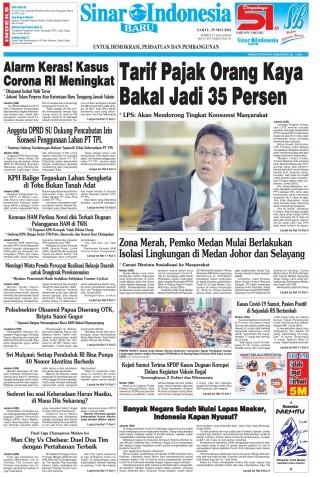 Tarif Pajak Orang Kaya Bakal Jadi 35 Persen
