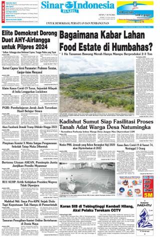 Bagaimana Kabar Lahan Food Estate di Humbahas?
