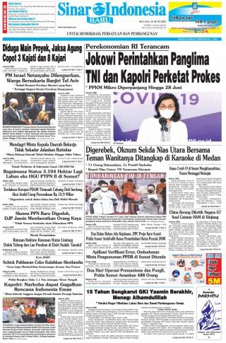 Jokowi Perintahkan Panglima TNI dan Kapolri Perketat Prokes