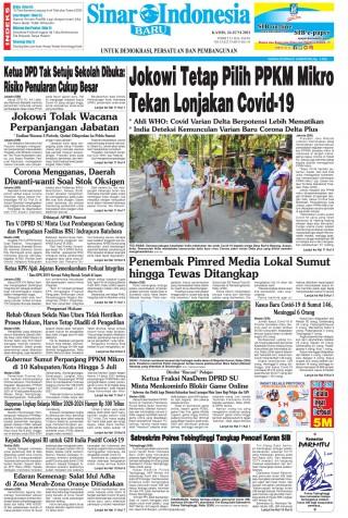 Jokowi Tetap Pilih PPKM Mikro Tekan Lonjakan Covid-19