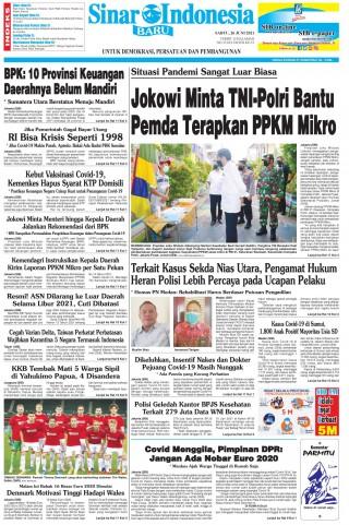Jokowi Minta TNI-Polri Bantu Pemda Terapkan PPKM Mikro