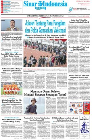 Jokowi Tantang Para Pangdam dan Polda Gencarkan Vaksinasi