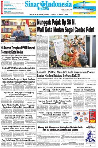 Nunggak Pajak Rp 56 M, Wali Kota Medan Segel Centre Point