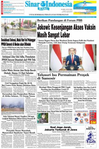 Jokowi: Kesenjangan Akses Vaksin Masih Sangat Lebar