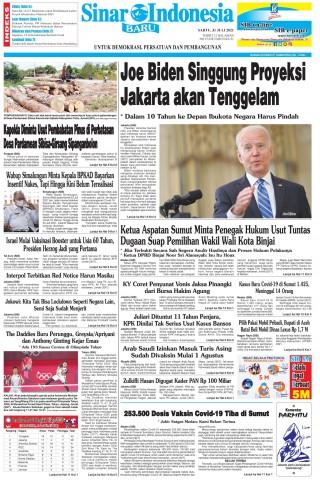 Joe Biden Singgung Proyeksi Jakarta akan Tenggelam