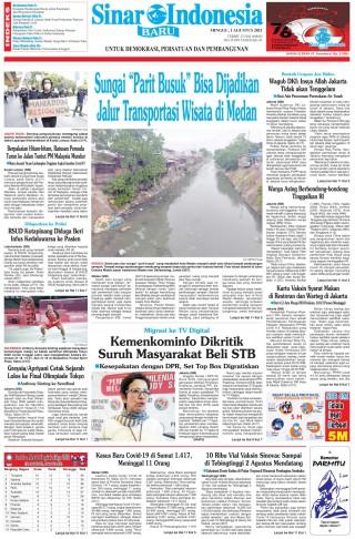 """Sungai """"Parit Busuk"""" Bisa Dijadikan Jalur Transportasi Wisata di Medan"""