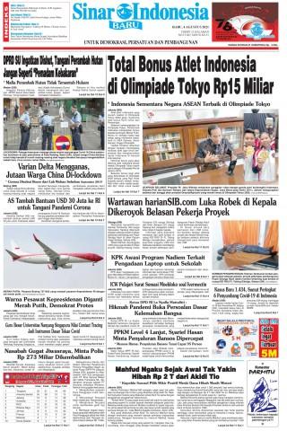 Total Bonus Atlet Indonesia di Olimpiade Tokyo Rp15 Miliar