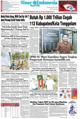 Butuh Rp 1.000 Triliun Cegah 112 Kabupaten/Kota Tenggelam