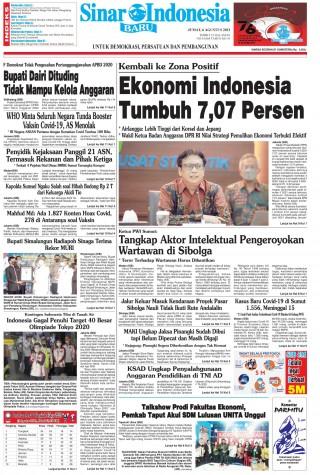 Ekonomi Indonesia Tumbuh 7,07 Persen