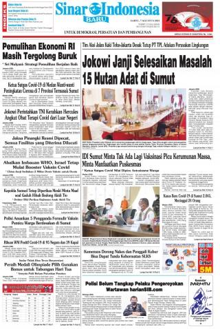Jokowi Janji Selesaikan Masalah 15 Hutan Adat di Sumut