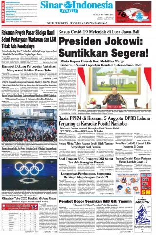 Presiden Jokowi: Suntikkan Segera!