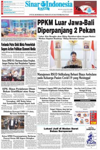 PPKM Luar Jawa-Bali Diperpanjang 2 Pekan