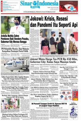 Jokowi: Krisis, Resesi dan Pandemi Itu Seperti Api