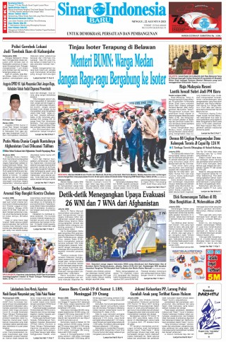 Menteri BUMN: Warga Medan Jangan Ragu-ragu Bergabung ke Isoter