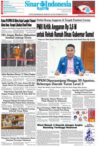 PMII Kritik Anggaran Rp 3,6 M untuk Rehab Rumah Dinas Gubernur Sumut