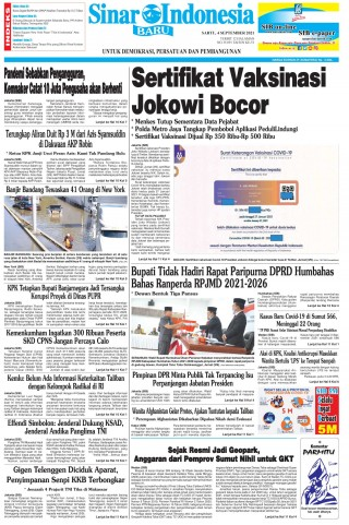 Sertifikat Vaksinasi Jokowi Bocor