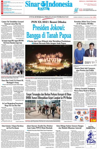 Presiden Jokowi: Bangga di Tanah Papua